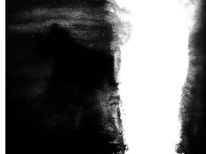 Quique Ortiz: Sin título, 2020. Óleo sobre lienzo. 120x120 cm.