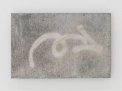 Manuel Minch: Intentar próximo año, 2021. Mordida sobre aluminio, 33x50 cm