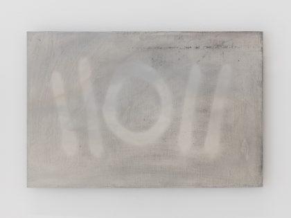Manuel Minch: Buenos contactos, 2021. Mordida sobre aluminio, 33x50 cm