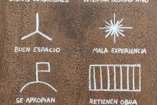 Manuel Minch, Cargo, Galería Juan Silió