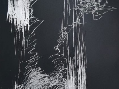 Manuel Minch: Sin salida, 2021. Acrílico sobre aluminio. 34x25x3 cm.