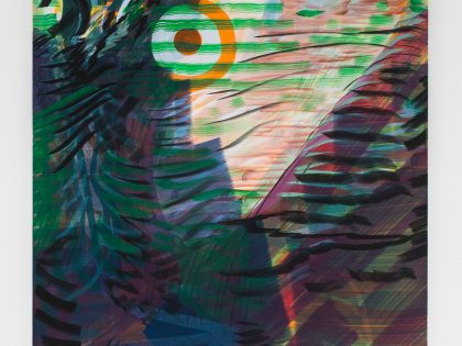 Ana Manso: dark circles, 2018. Óleo sobre lienzo. 116x73 cm. ©Bruno Lopes