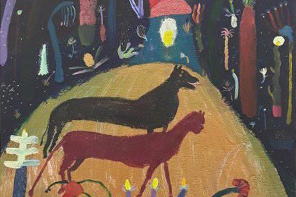 Laura Lopez Balza, animales, arte, pintura, galeria juan silio