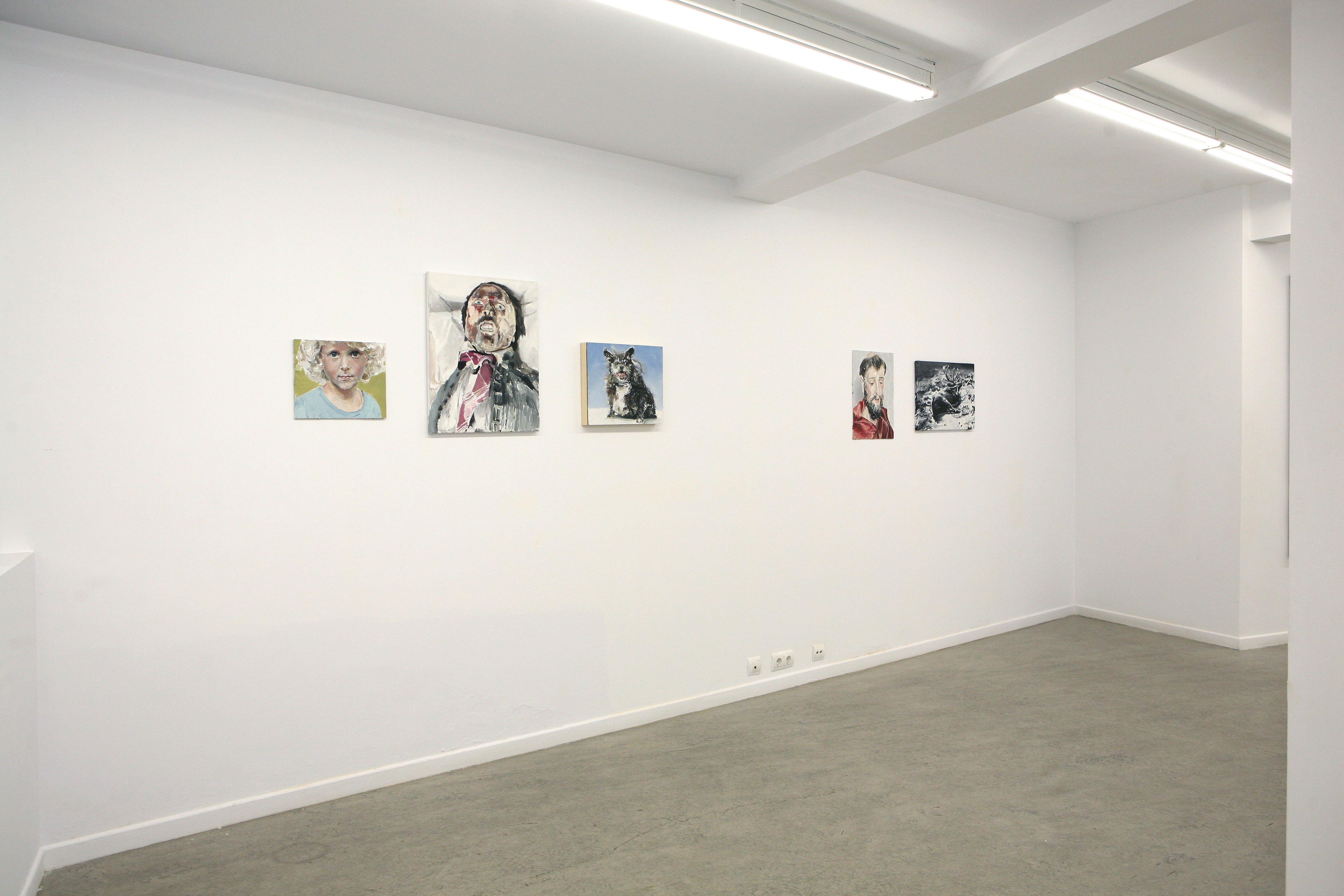 Exposición José y sus hermanos, Santiago Ydáñez. Galería Juan Silió, 2016.