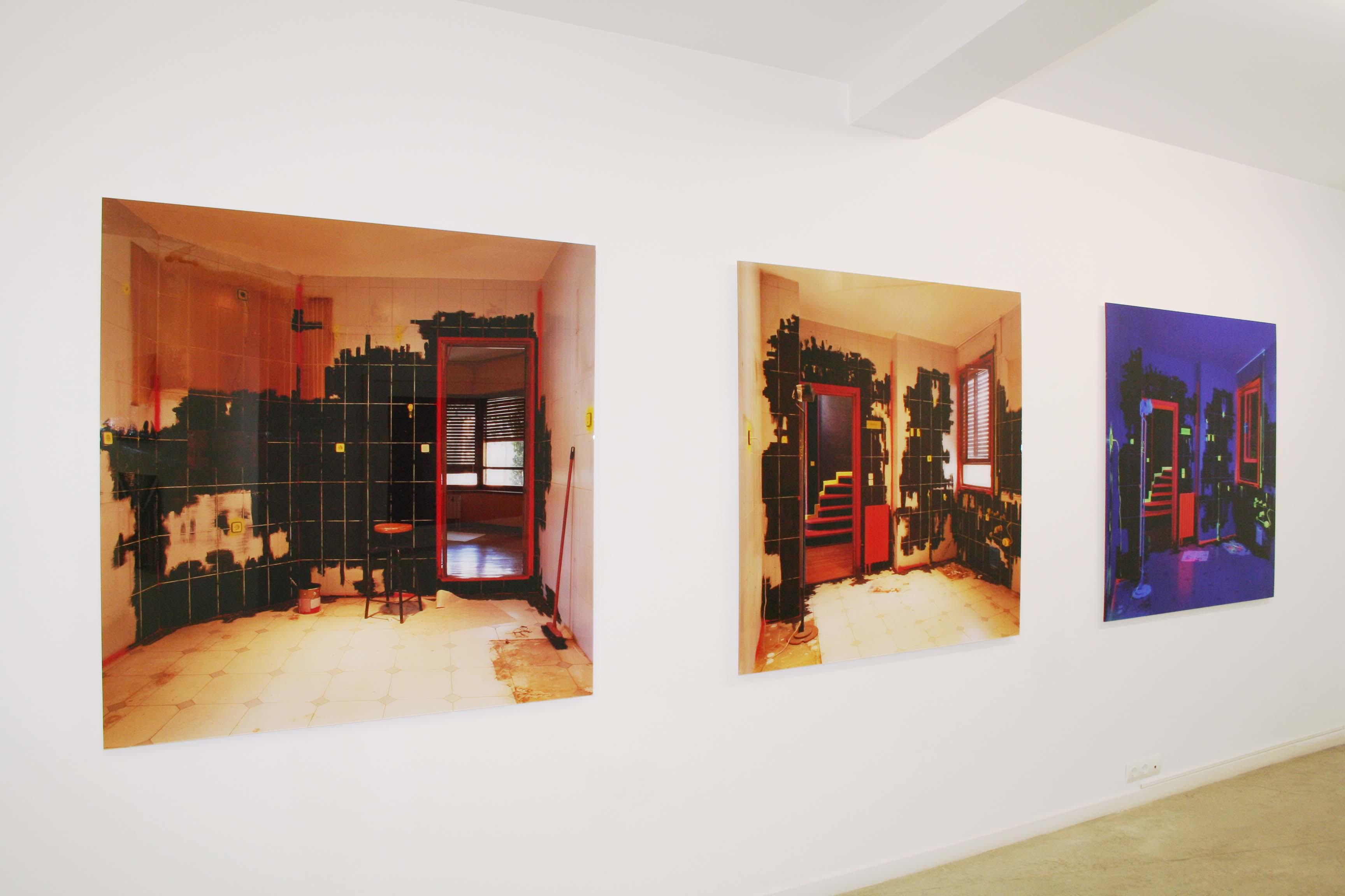 Exposición David Latorre - Galería Juan Silió