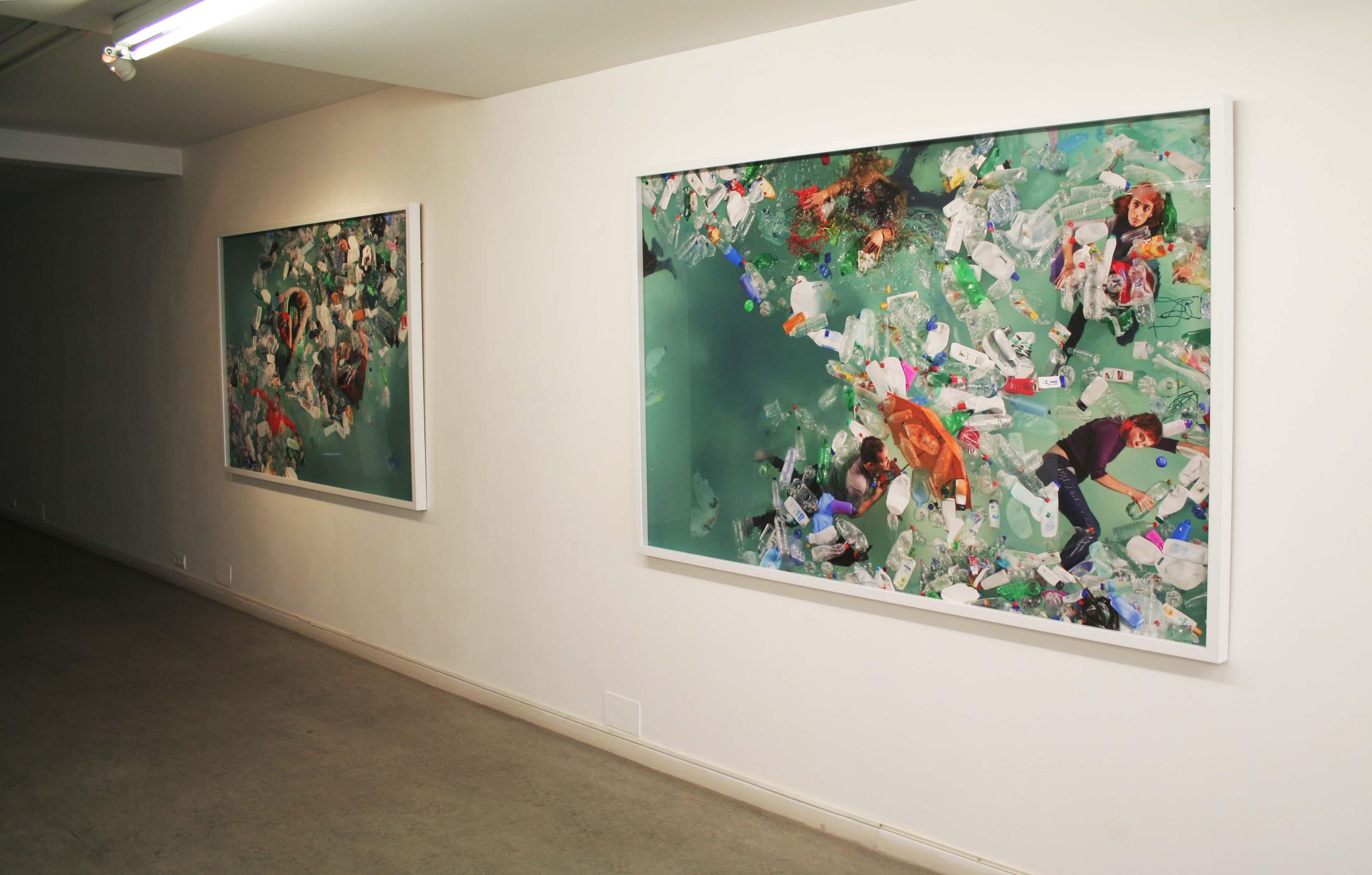 Exposición Daniel Canogar en Juan Silió