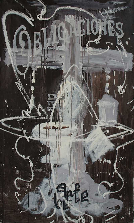 Colaboración Manuel Ocampo - Irene Iré. Obligaciones del Arte