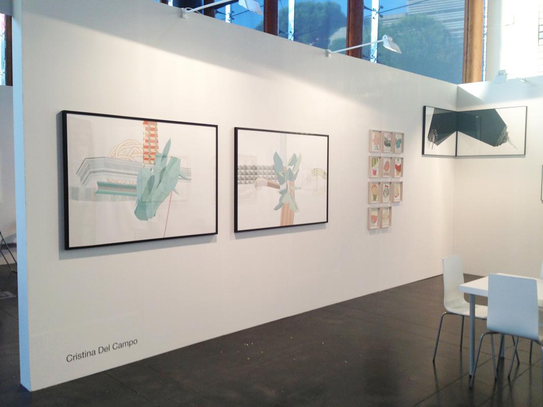 Stand Galería Juan Silió en  Est Art Fair