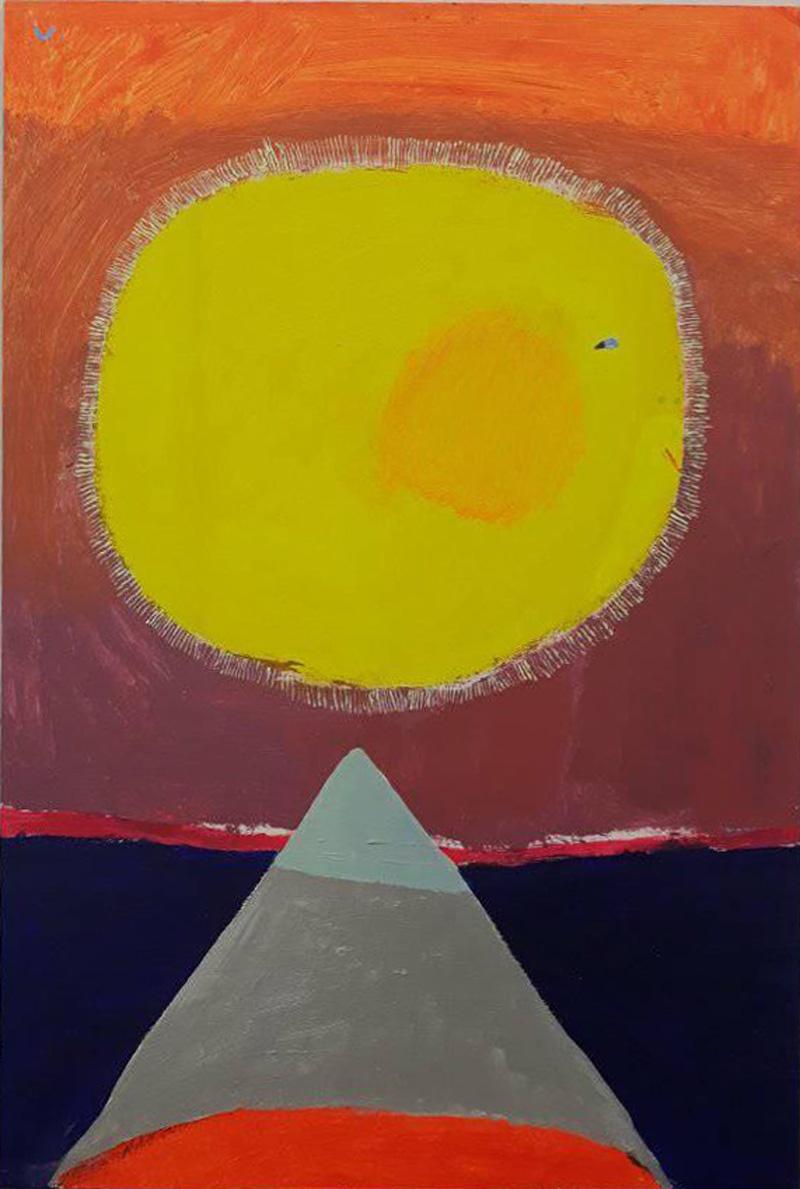 Laura López Balza. El sol muerto y el sol naciente.