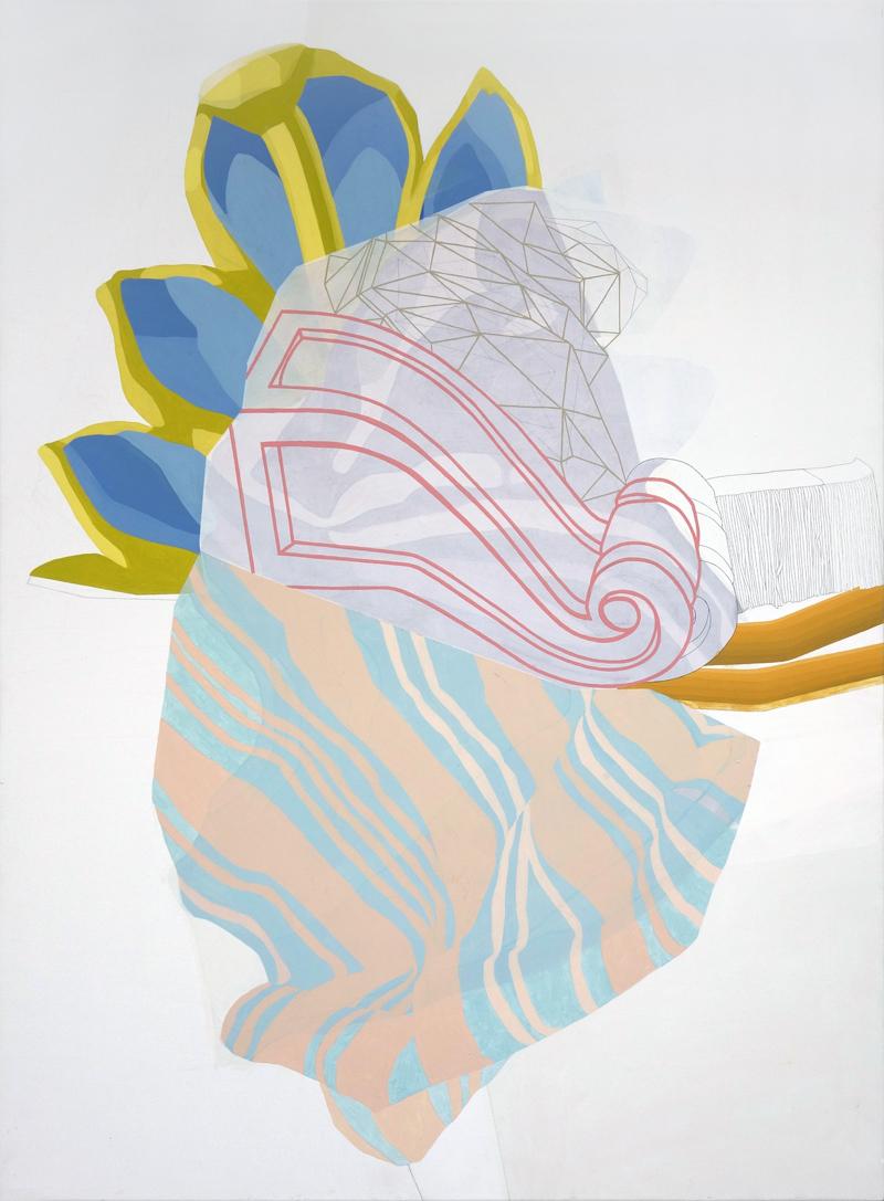 Cristina del Campo. S/T (serie Drapeados)