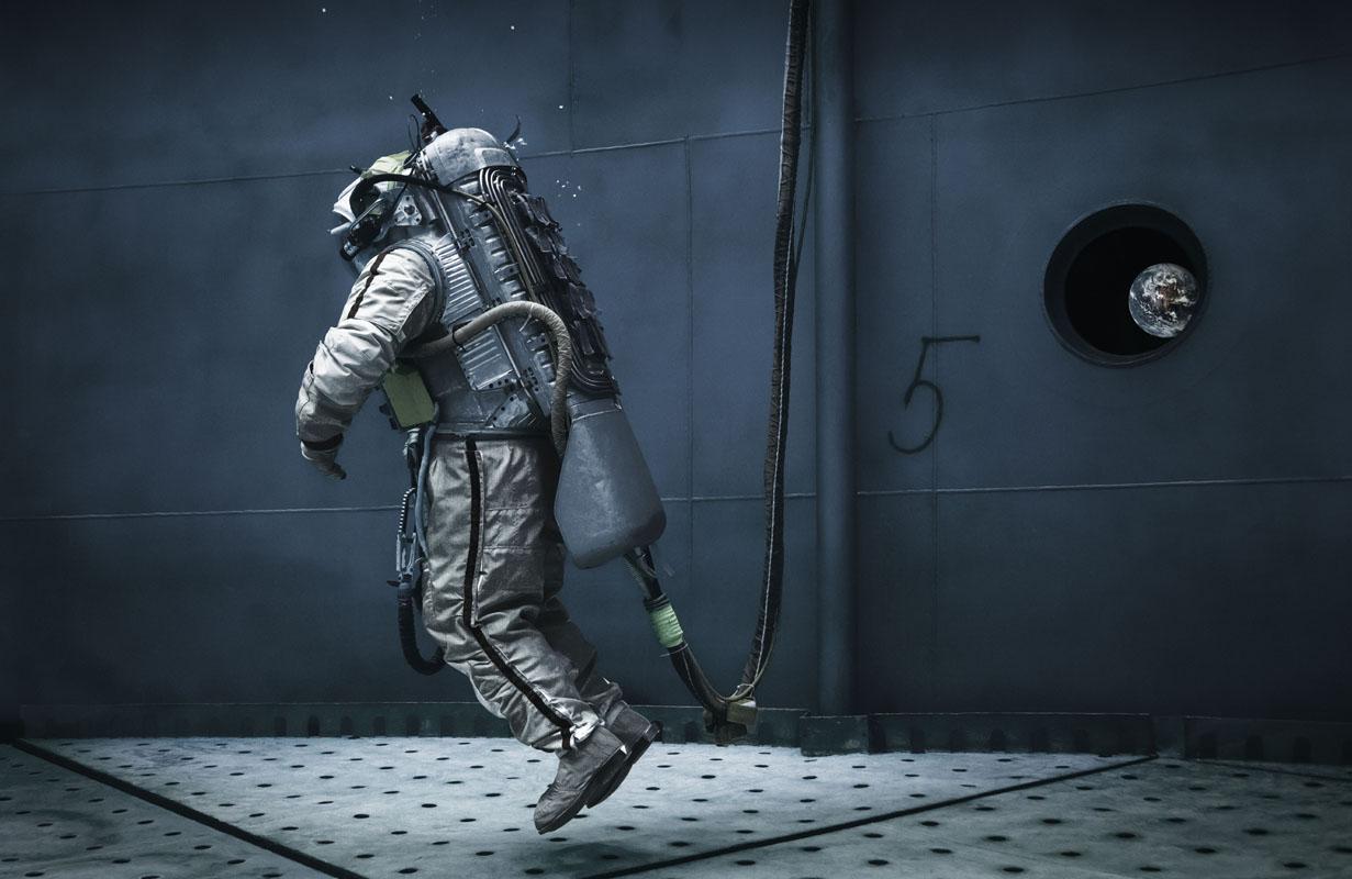 Michael Najjar. liquid gravity