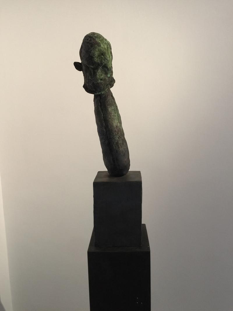José Cobo. Torso de mono de trapo