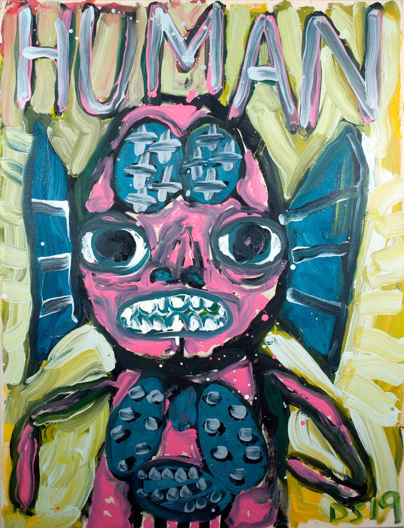 David Surman. Human Puck